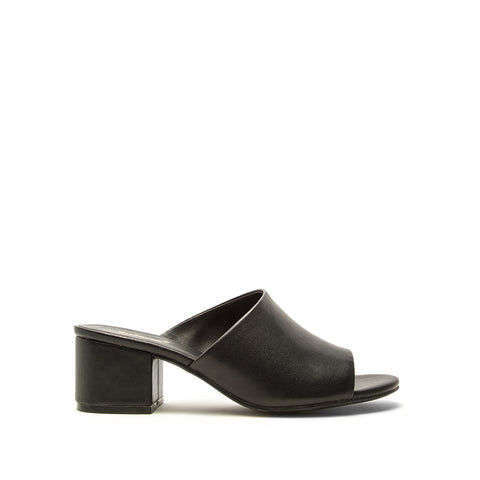 Jaden-131XX Black One Band Mules