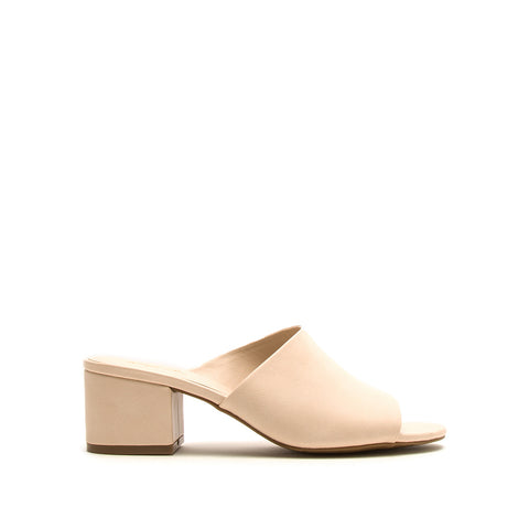 Jaden-131XX Nude One Band Mules
