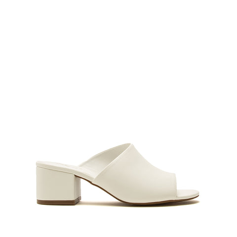 Jaden-131XX White One Band Mules