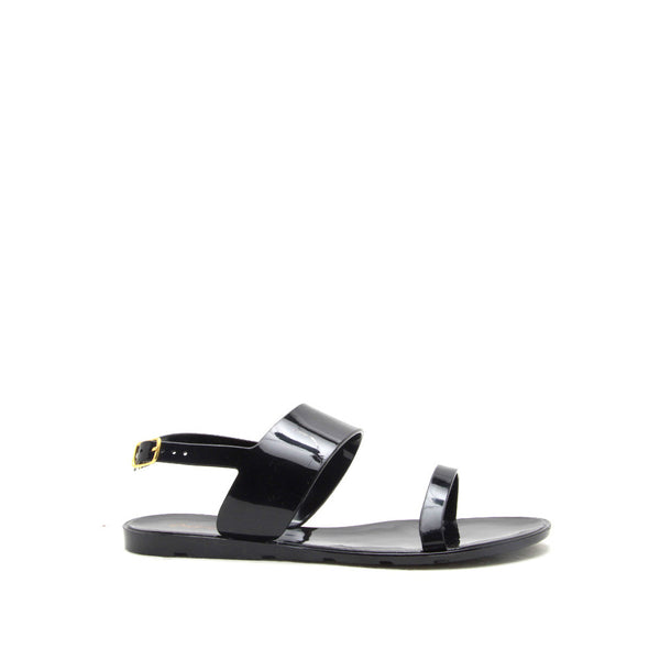 Juniper-01 Black 2 Band Sandal