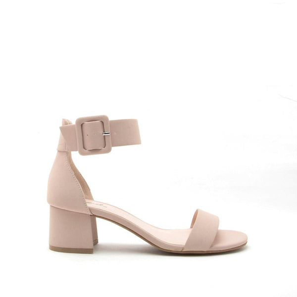 Katz-37 Nude One Band Ankle Sandal