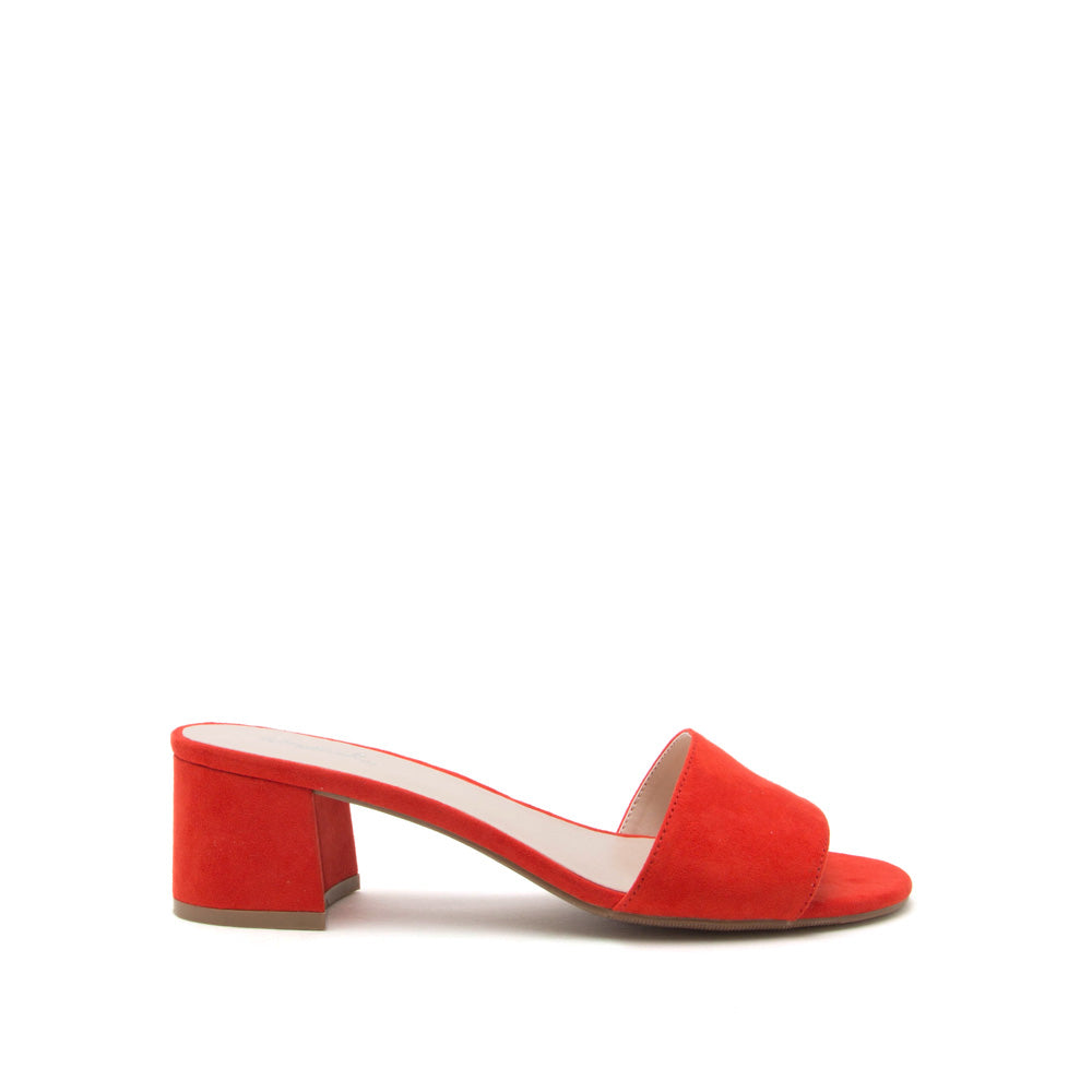Katz-43X Blood Orange Mule Sandal