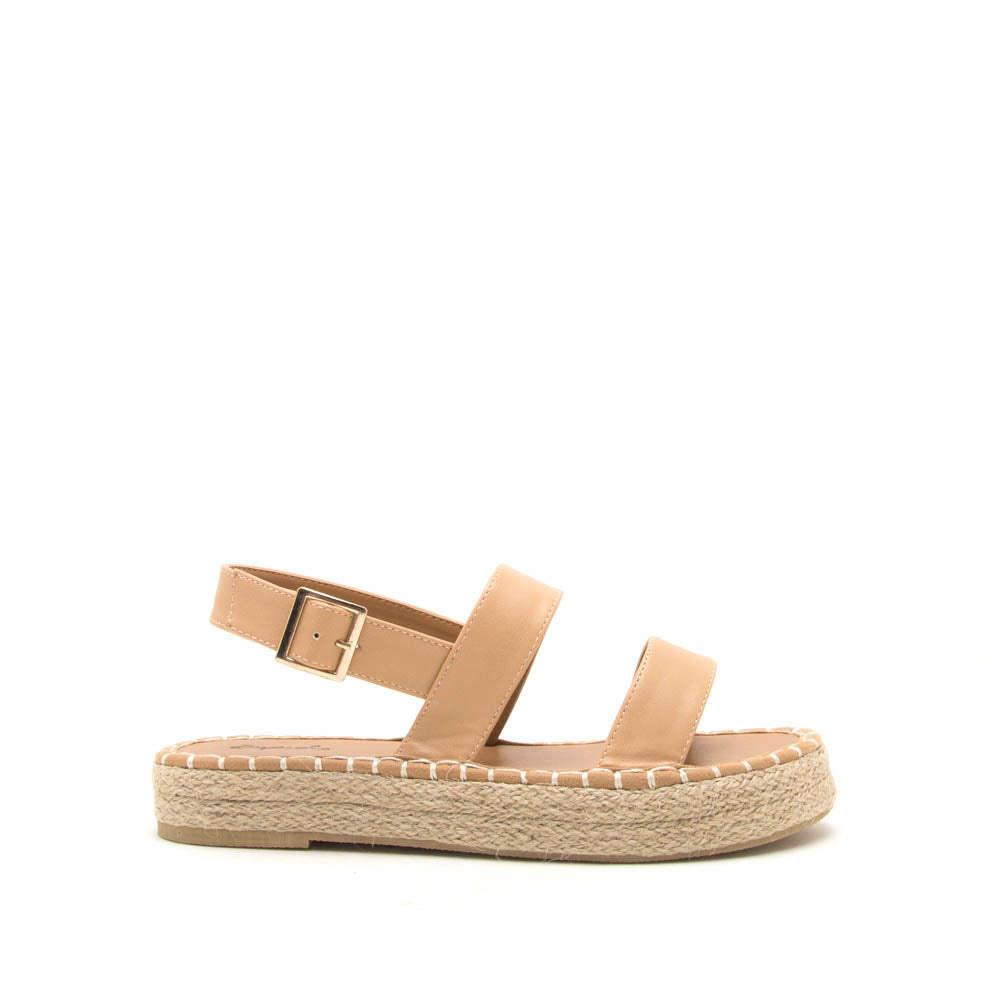 Kirk-19X Tan Slingback Sandals