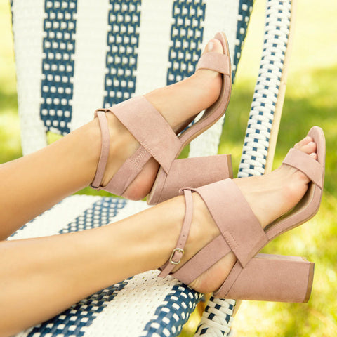 Lake-06 Desert Rose Strappy Sandal