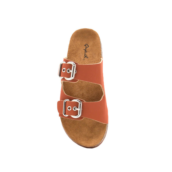Luka-06 Brick Double Band Sandals