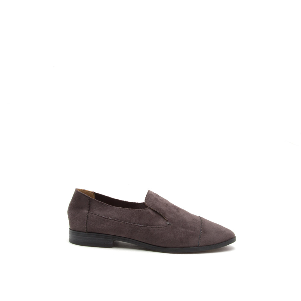 Malik-12X Charcoal Stretch Loafer