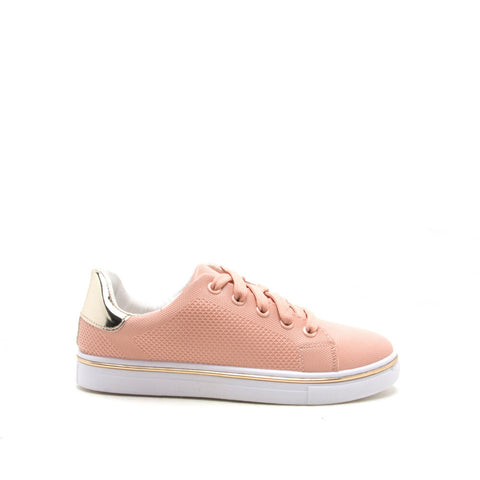 Matthew-02 Blush Lace Up Sneaker