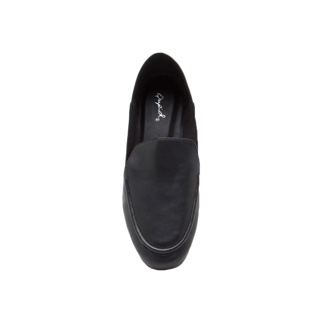 Moby-52X Black Loafer Ballerinas