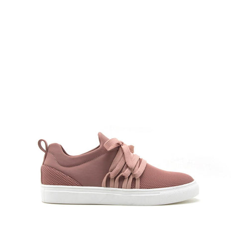 Moira-12B Mauve Lace Up Sneaker