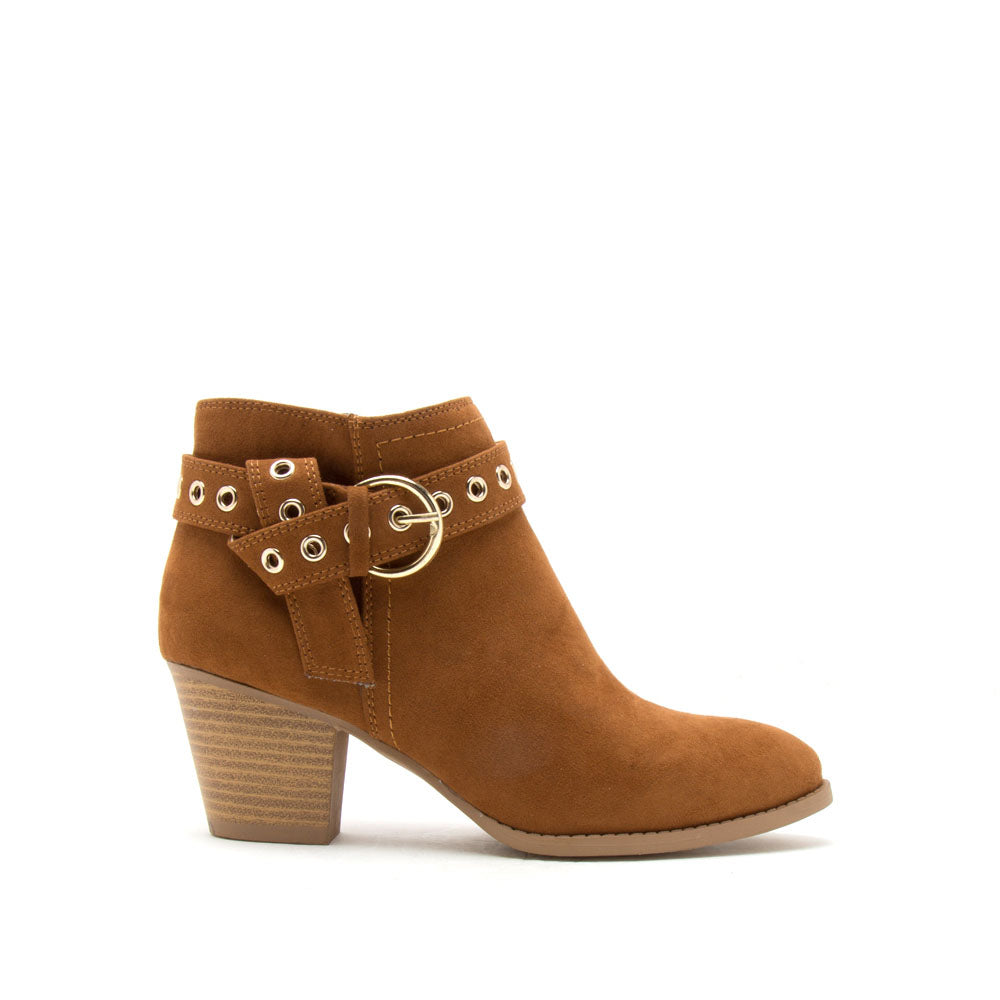 Morrison-01 Maple Belted Bootie