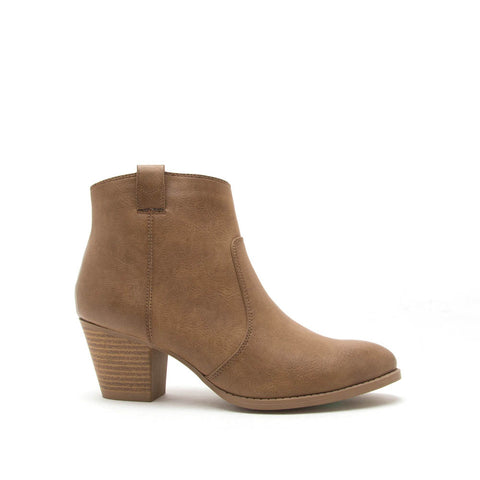 Morrison-20 Taupe Ankle Bootie