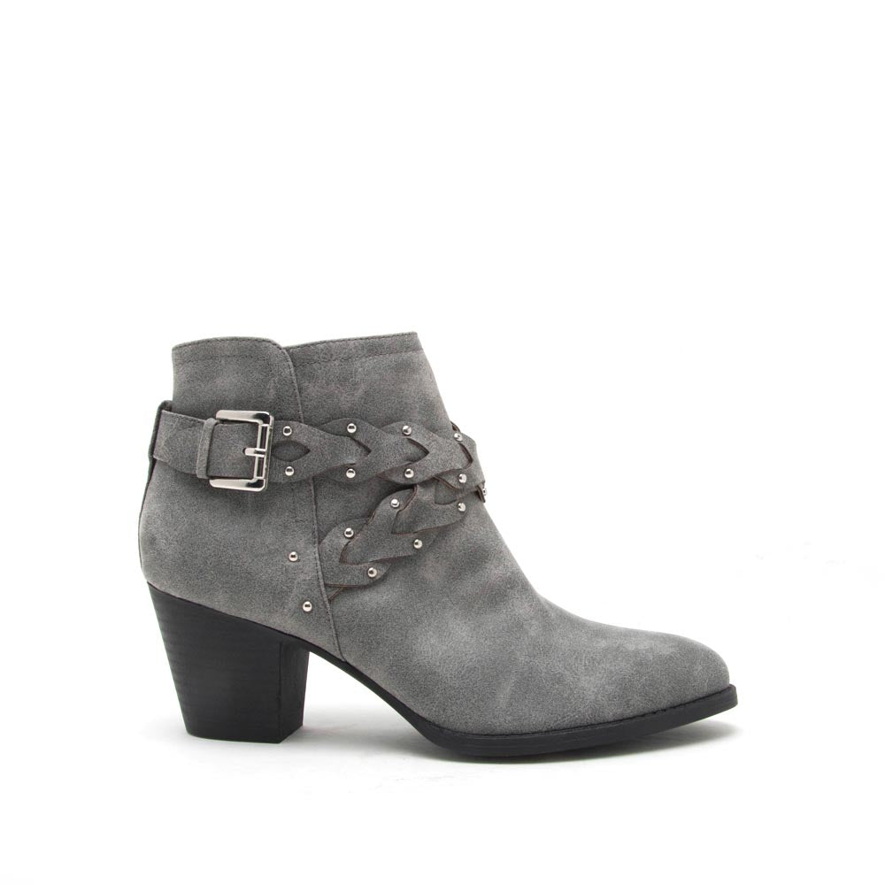 Morrison-24X Ash Grey Braided Bootie