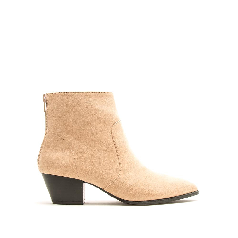 Mystique-01X Warm Taupe Booties