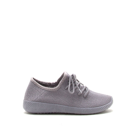 Nacara-01 Light Grey Monochromatic Sneaker