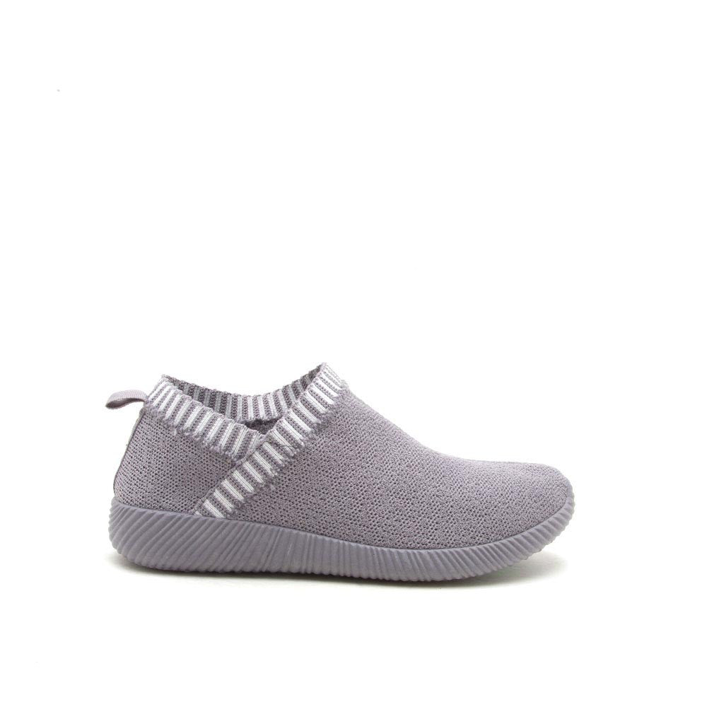 Nacara-06 Light Grey Sock Sneaker