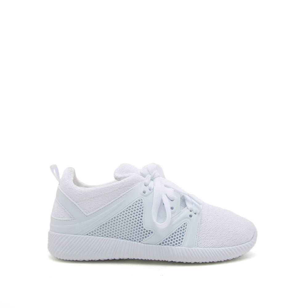 Shoes Nacara-13 White Lace Up Sneaker