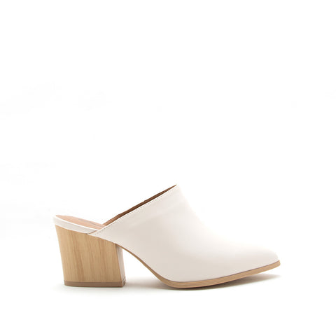 Nava-12A Off White Mules