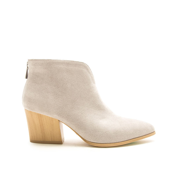 Nava-26A Light Grey Booties