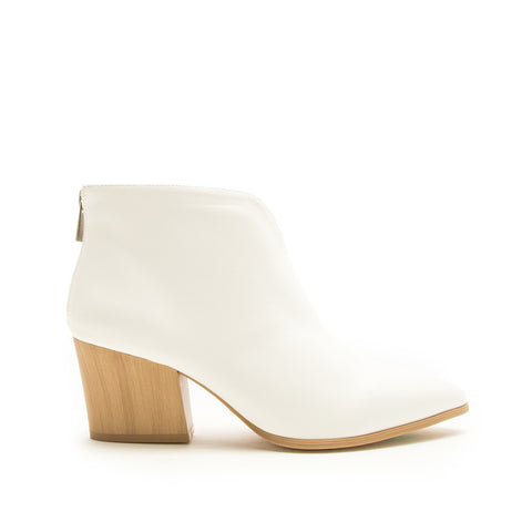 Nava-26A White Booties