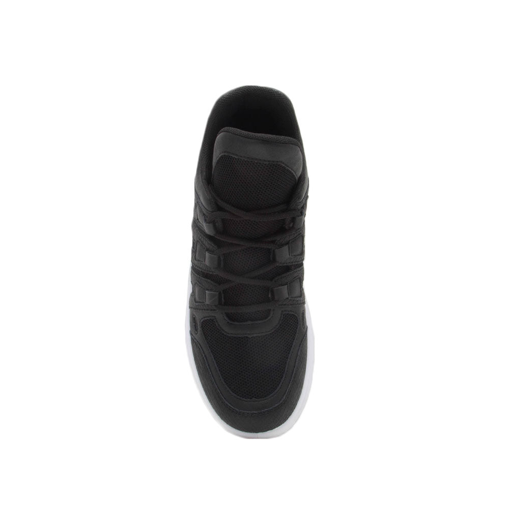 Nerf-02 Black Lace Up Sneaker