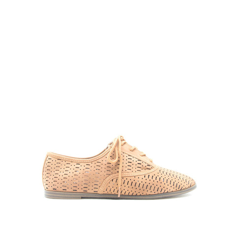 ORLIA-05 Tan Perforated Oxford