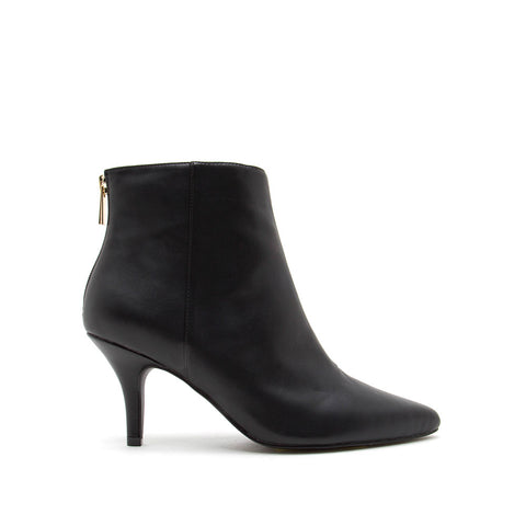 Portia-80 Black Booties