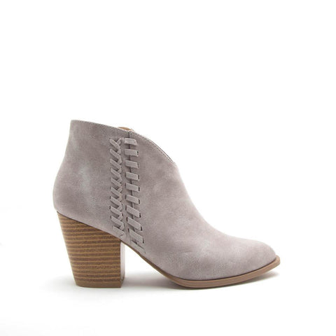 Prenton-30 Light Grey Whipstitch Bootie