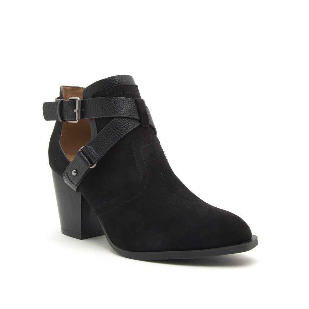 Prenton-81XX Black X Band Booties