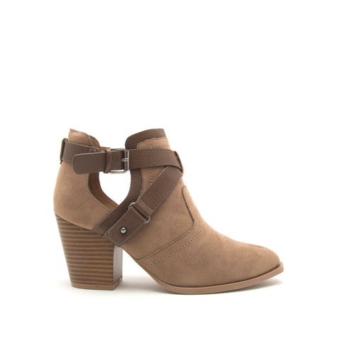 Prenton-81XX Taupe X Band Booties