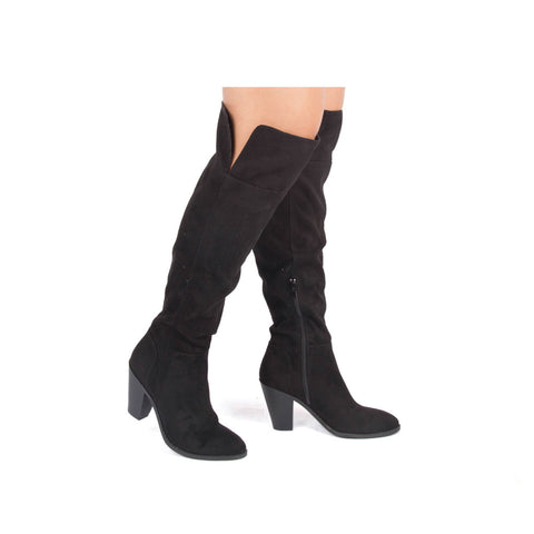 Prism-15 Black Tall Boots