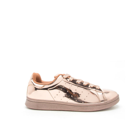 PRIZE-01 Rose Gold Metallic Sneaker