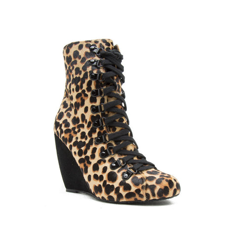 Blonde Ambition QUASI Tan Leopard