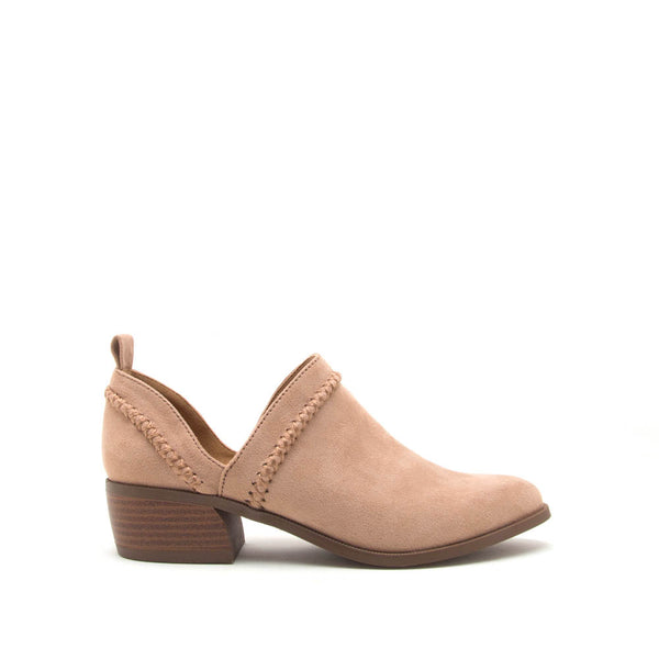 Rager-24 Warm Taupe Stretched Booties