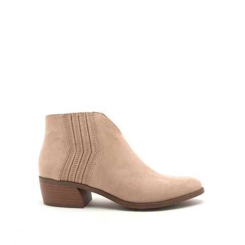Rager-46 Taupe Booties