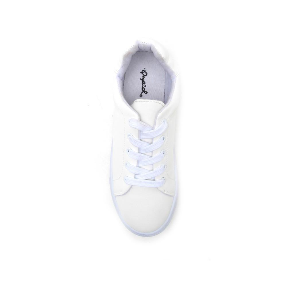 REBA-111C White Lace Up