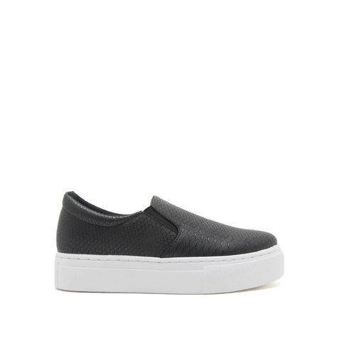 Royal-02B Black Snake Step In Sneakers