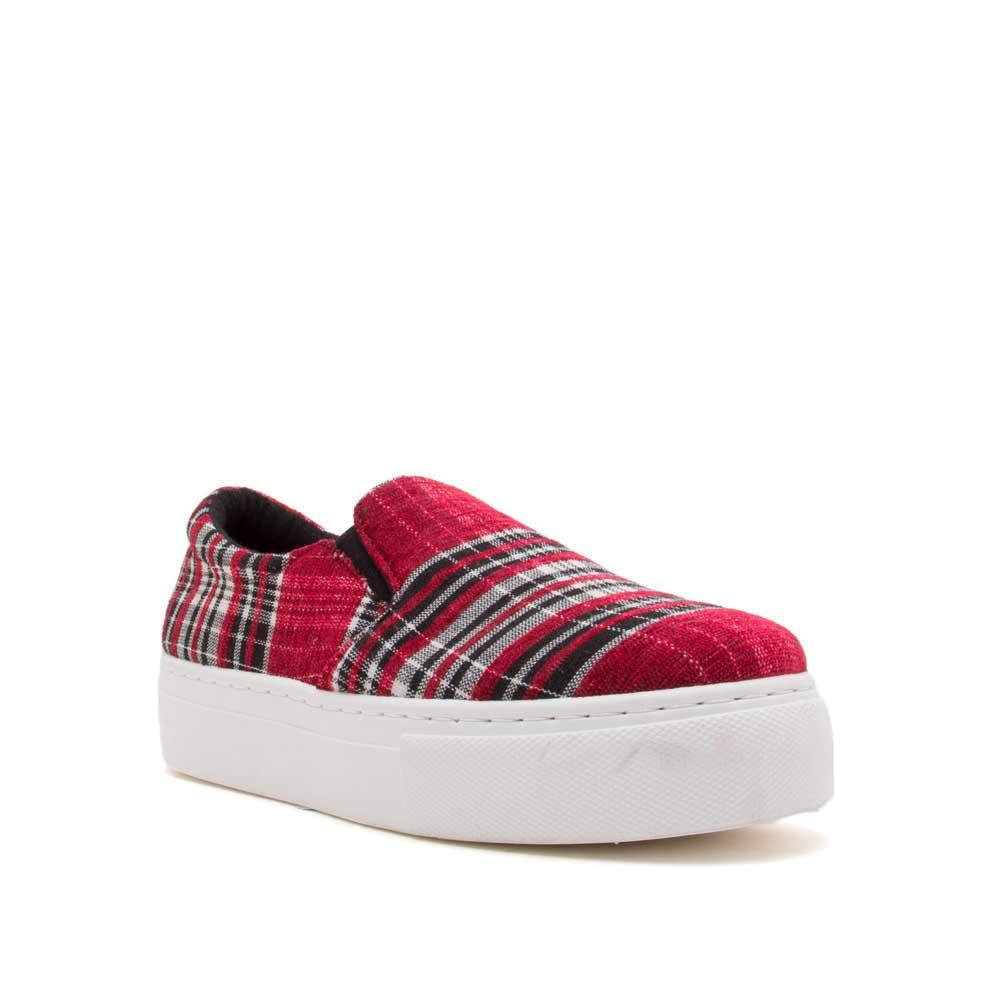 Royal-02C Red Multi Step In Sneakers