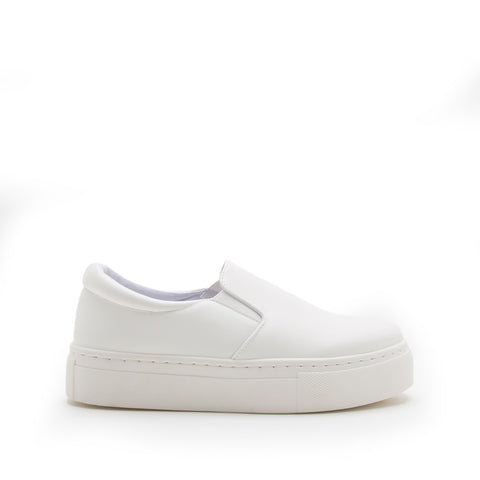 Royal-02C White Step In Sneakers