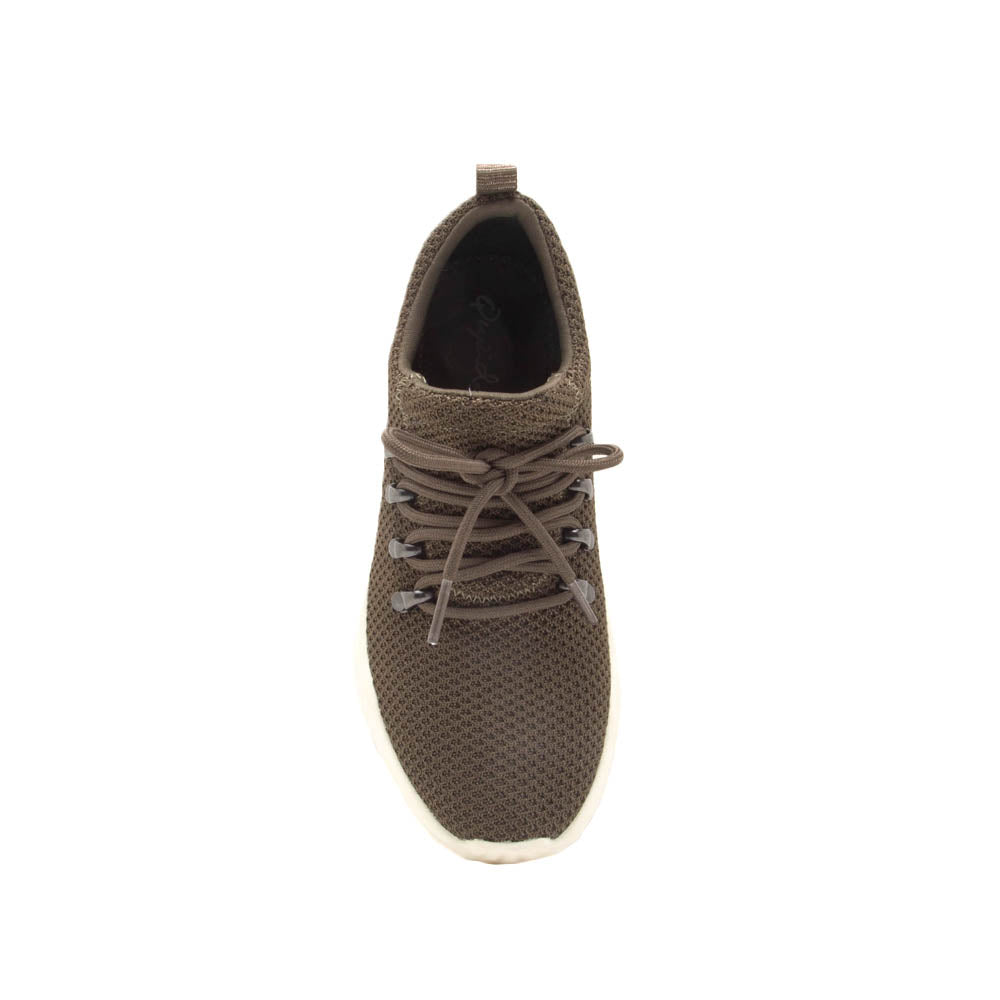 Ryder-01 Khaki Lace Up Sneakers