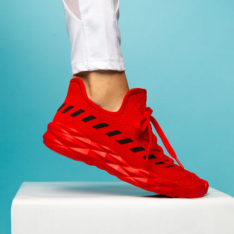 Ryder-02 Red Athletic Sneakers