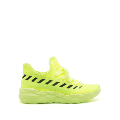 Ryder-02 Neon Yellow Athletic Sneakers