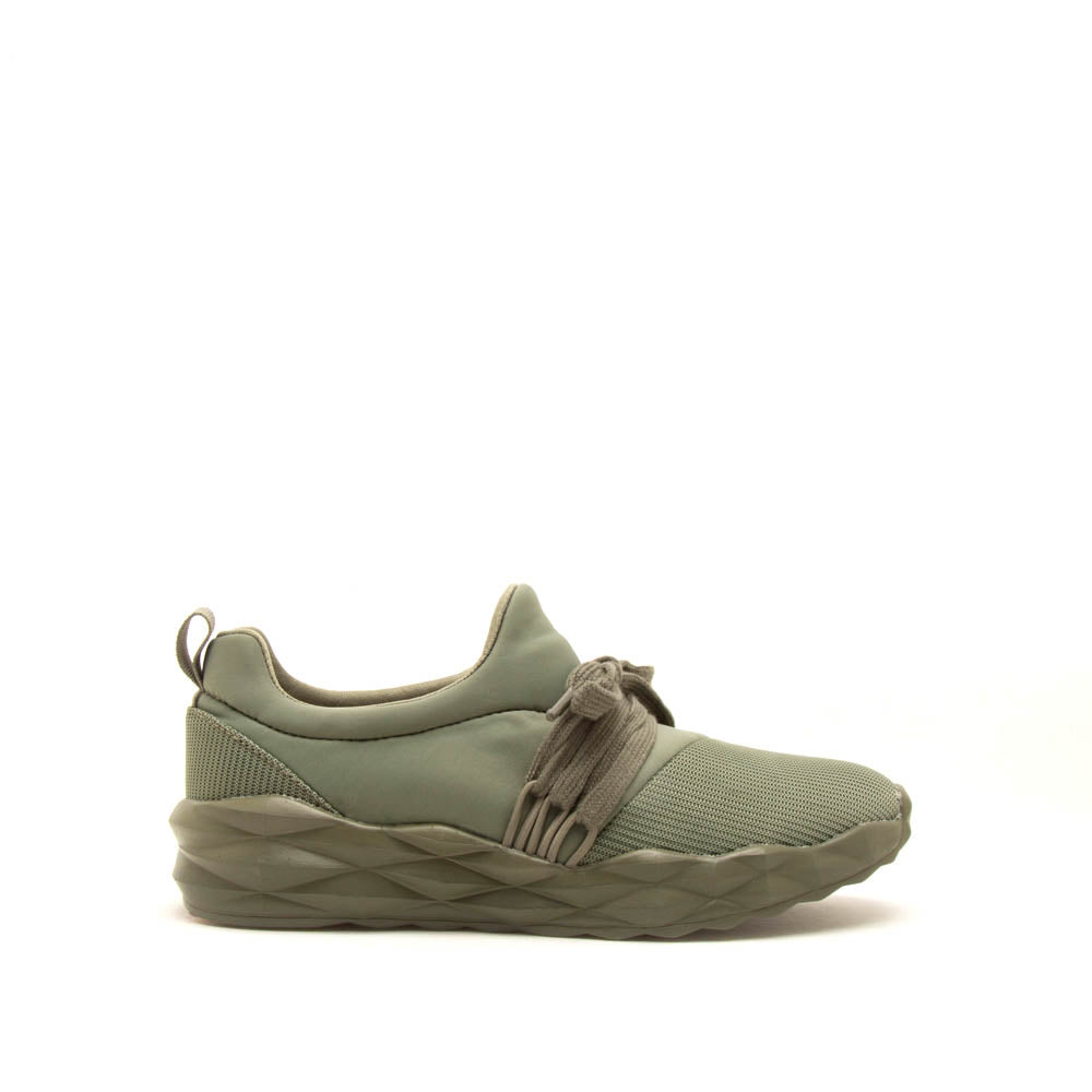 Ryder-04X Khaki Lace Up Sneakers