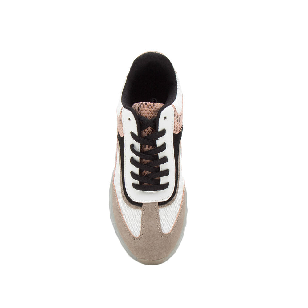 Ryder-05A Taupe Multi Sneakers
