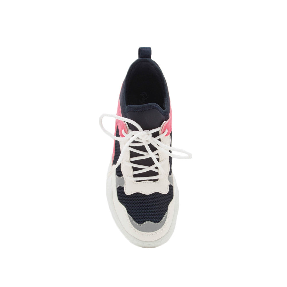 Savita-04 Navy Multi Sneakers