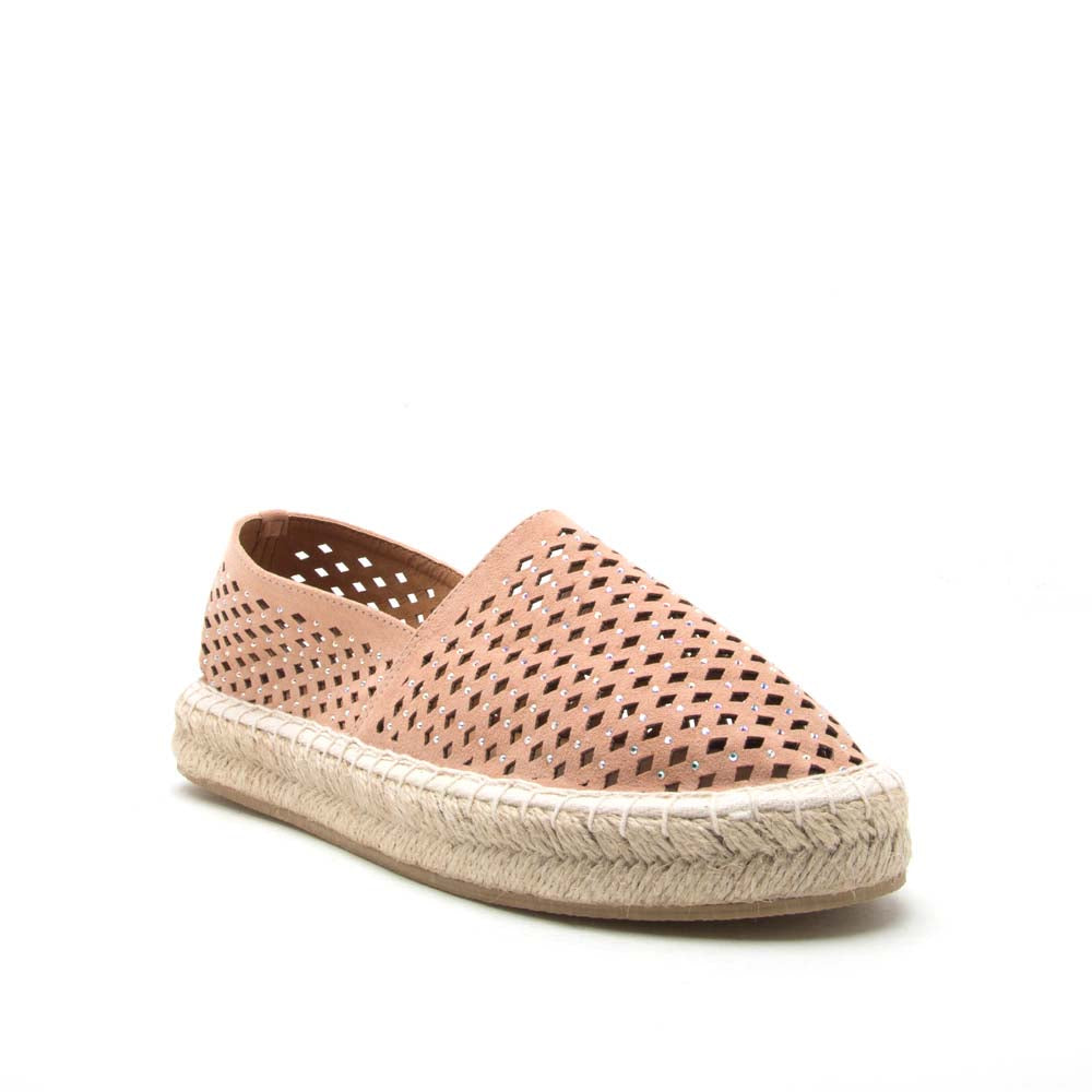 Sequoia-07 Blush Perforated Ballerina