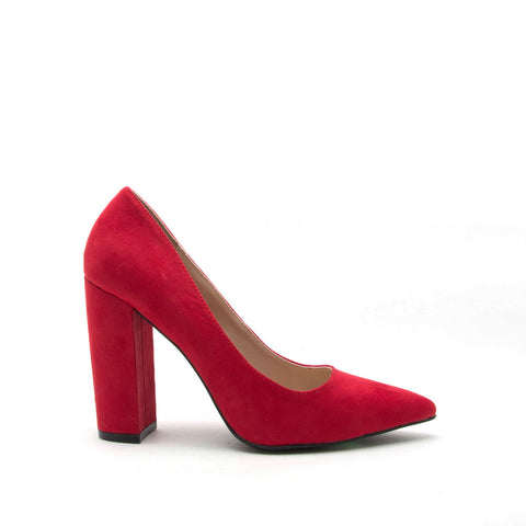 Signal-01 Red Block Pump Heel