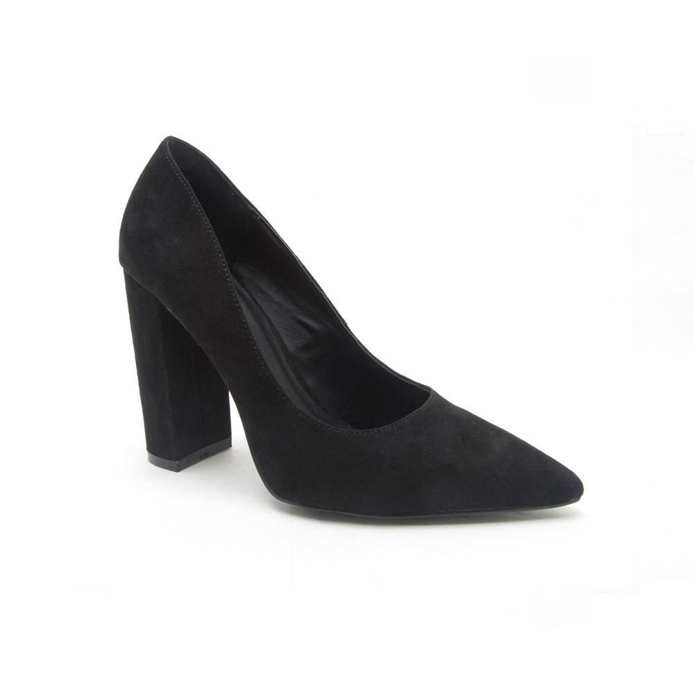 SIGNAL-01 Black Block Pump Heel
