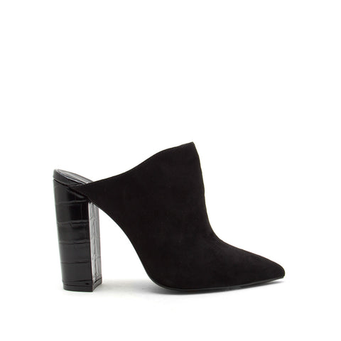 Signal-113 Black Mule Pumps