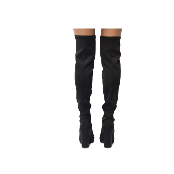 SIGNAL-20 Black Knee High Boot