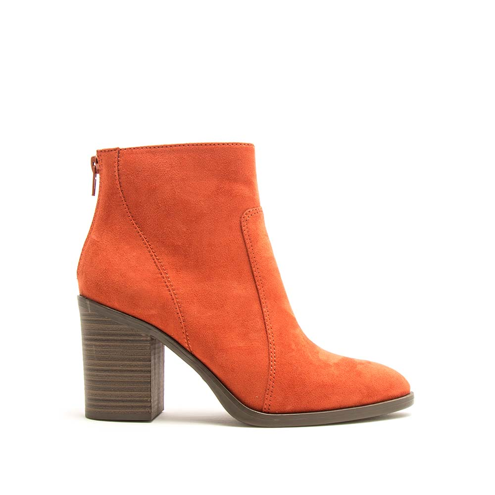 Snatch-01 Brick Western Booties